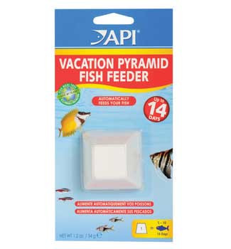 Aquarium Pharmaceuticals Api 7-day Pyramid Fish Feeder