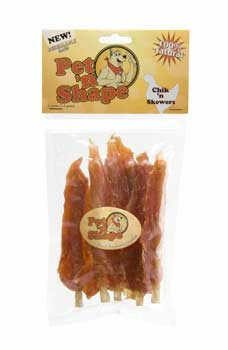 Pet N Shape Chik N Skewers 4oz