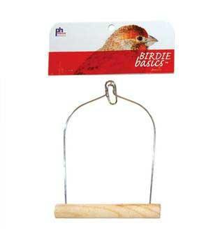 Prevue Pet Products Birdie Basics Wood Swing 5inx7in
