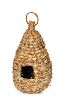 Prevue Pet Products Grass Bird Nest 5in Diameter 11.75in High