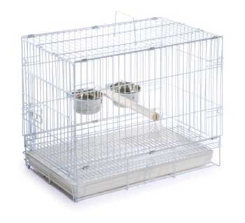 Prevue Pet Products Travel Cage White