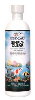 Aquarium Pharmaceuticals Pondcare Simply Clear 16 Oz. Bottle