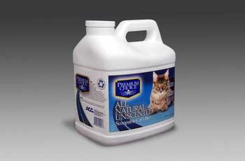 Ac Premium Choice Carefree Kitty Unscented All Natural Scoop Litter 3/16lb