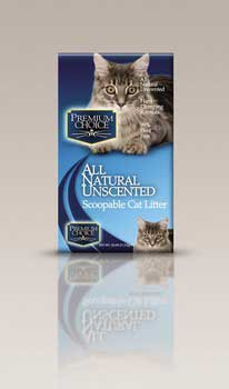 Ac Premium Choice Carefree Kitty Unscented All Natural Scoop Litter 25lb