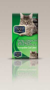 Ac Premium Choice Carefree Kitty Unscented W/ Baking Soda Scoop Litter 25lb