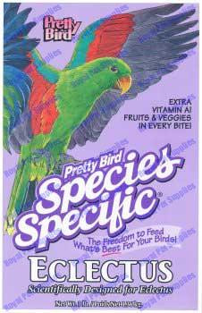 Pretty Bird Eclectus Special For Birds 3lb
