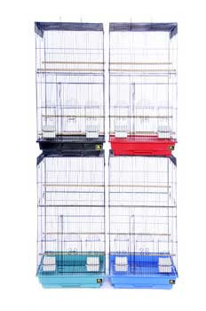 Prevue Pet Products Pre-packed Tall Cages 18x18 4pc