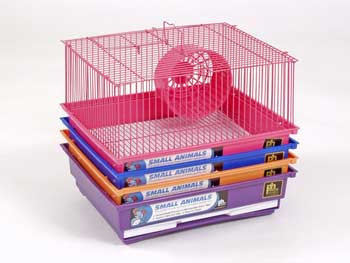 Prevue Pet Products Pre-packed Hamster And Gerbil One Story Cages 13x10