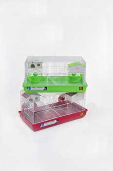 Prevue Pet Deluxe Hamster And Gerbil Cages 22x12