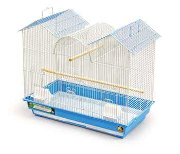 Prevue Pet Products Pre-packed Triple Roof Cages 26x14 2pc