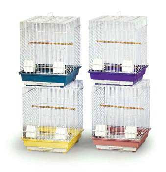 Prevue Pet Products 4 Pre-packed Parakeet Or Cockatiel Cages 16x16x22 4pc