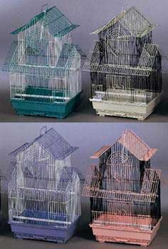 Prevue Pet Products Pre-packed Shanghai Parakeet Cages 4pc
