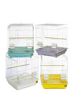 Prevue Pet Products Pre-packed Parakeet Or Cockatiel Cages 18x18x24 4pc