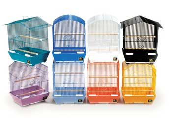 Prevue Pet Products Pre-packed Small Cage Styles 9x12x15 8 cage pack