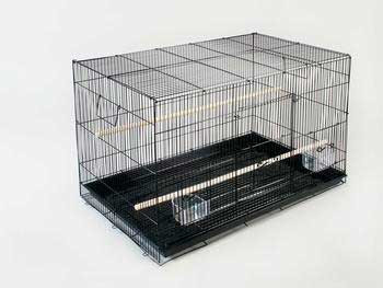 Prevue Pet Products Pre-packed Flight Cage White 24in 4pc