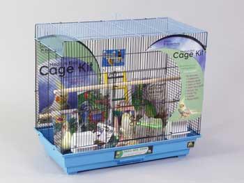 Prevue Cage Tiel Flite Bk/bl26x14-108299