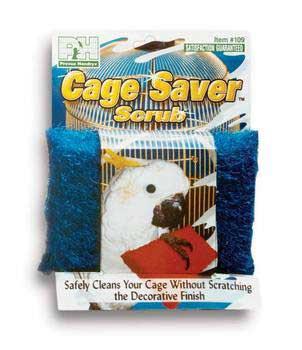 Prevue Pet Products Cage Saver Scrub Pad