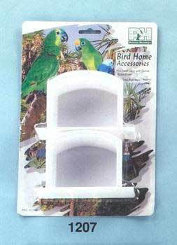 Prevue Pet Products Bird Basic Winged Plastic Cup