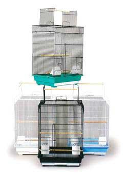 Prevue Pet Products Pre-packed Cockatiel Playtop Cages 18x14x26 4pc