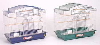 Prevue Pet Products Pre-packed Barn Style Parakeet Or Cockatiel Cages 2pc