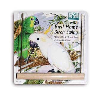 Prevue Pet Products Medium Birch Swing 9in Long