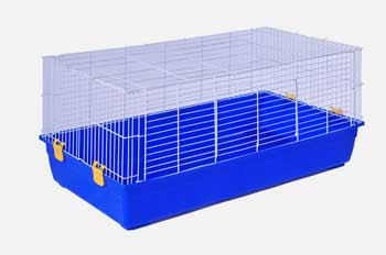 Prevue Pet Products Small Animal Tubby Assorted Blue And Green 46.75x24x22.25in