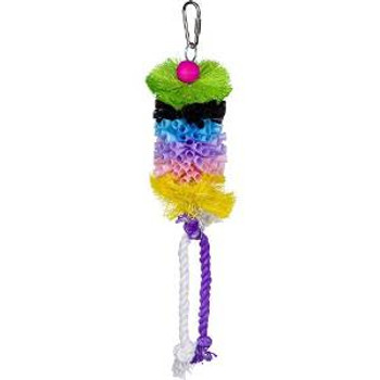 Prevue Pet Products Calypso Creations Straw Stack Bird Toy