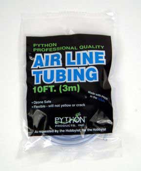 Python 10 Ft. Professional Quality Airline Tubing (carded)