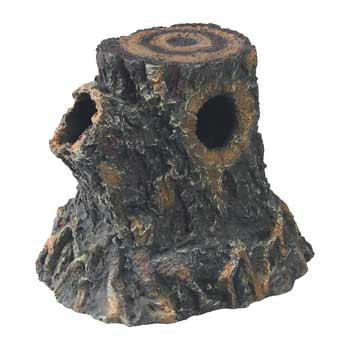 R-Zilla Basking Stump Den Small