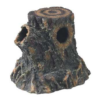 R-Zilla Basking Stump Den Small