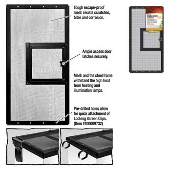 R-Zilla Fresh Air Screen Cover With Hinged Door 20x10