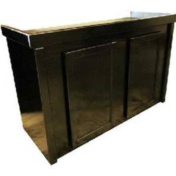 R and J Birch Cabinet Black 48x18x30
