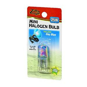 R-Zilla Halogen Lamp Mini Blue 25 Watts