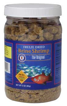 San Francisco Bay Freeze Dried Brine Shrimp 85gm-75216