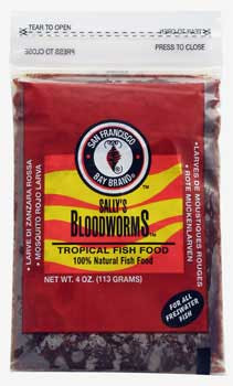 San Francisco Bay Frozen Bloodworms Flat Pack SD-5
