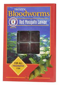 San Francisco Bay Frozen Bloodworms Cube 1.75oz SD-5
