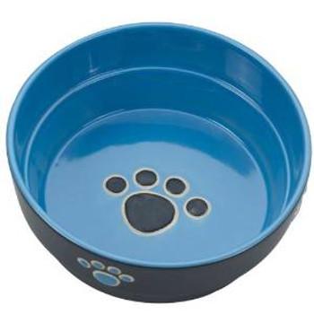 Spot Ethical Fresco Dish Dog Blue