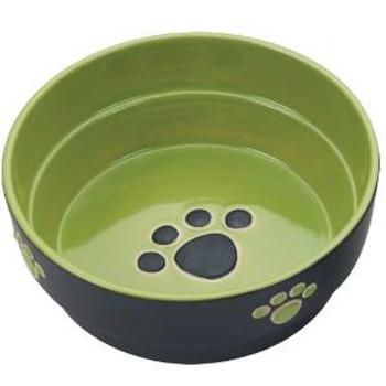 Spot Ethical Fresco Dish Dog Green 7in