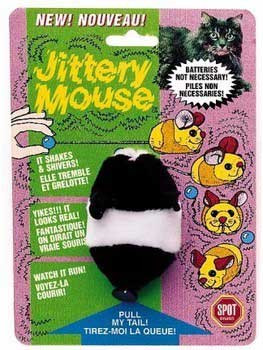 Spot Ethical Plush Jittery Mouse Assorted 3in