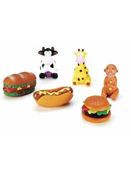 Spot Puppy/sm Asst Vinylabone Toys-96201