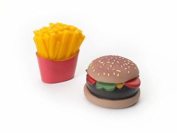 Ethical Products Spot Vinyl Burger & Fries 2pk