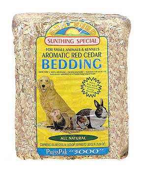 Sunseed Bedding Cedar Press Pack 3000cu In