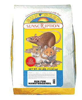 Vitakraft/sunseed Sun Fun Hamster/gerbil 25 Lb.