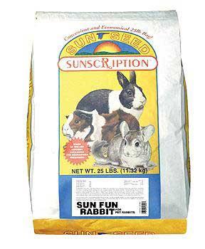 Vitakraft/sunseed Sun Fun Rabbit 25 Lb.