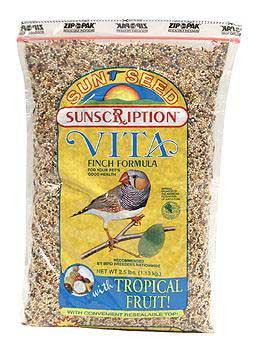 Vitakraft/sun Vita Finch 6/2.5 Lb.