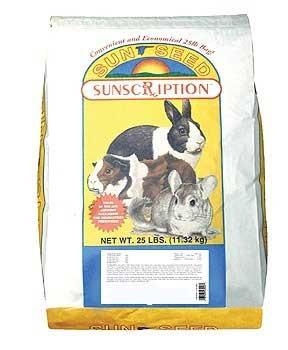 Vitakraft/sunseed Vitaprima Rabbit Adult 25 Lb.