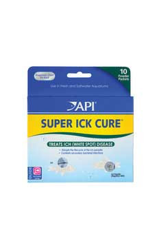 Aquarium Pharmaceuticals Super Ick Cure Powder Packets