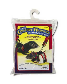 Super Pet Comfort Harness W/stretchy Stroller Small