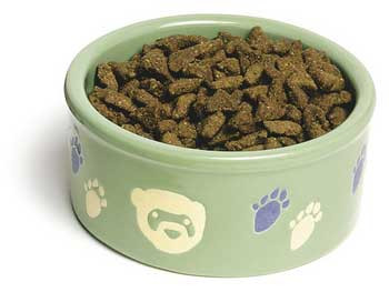 Super Pet Paw-print Petware Ferret Bowl