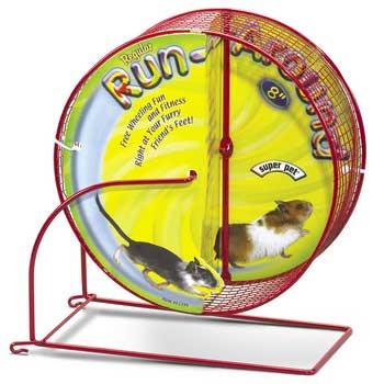 Super Pet Run-around Wheel Regular 8in Diameter